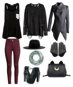 """Waiting for fall"" by kathryn-robin-temir on Polyvore featuring Solid & Striped, H&M, Études, Accessorize and Usagi"