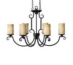 Hinkley Lighting 3508OL 6 Light Casa Chandelier Foyer Light, Olde Black