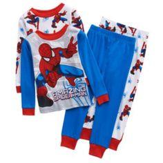 The Amazing Spider-Man 4-pc. Pajama Set - Toddler