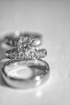 Engagement Rings 2018 Elegant Atlanta ballroom wedding: www. Wedding Engagement, Wedding Bands, Engagement Rings, Wedding Ring, Ballroom Wedding, Wedding Reception, Atlanta Wedding, Diamond Are A Girls Best Friend, Beautiful Rings