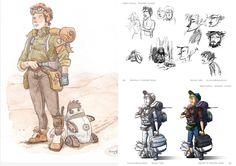 Cantina Animation- Sketching #niccolocellini, #lisastampfer, #sketching, #cantinaanimation, #digitalart, #cintiqwacom, #digitaldrawing, #characterdesign,
