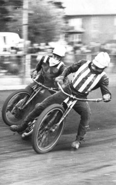 BARRY BRIGGS AND OVE FUNDIN