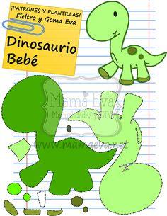 Plantillas de Animales Acuáticos Peces Dinosaurios