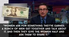 When he talked about how a woman sharing the $10 note with Alexander Hamilton is a reflection of the women's rights movement. | 18 Times John Oliver Nailed It