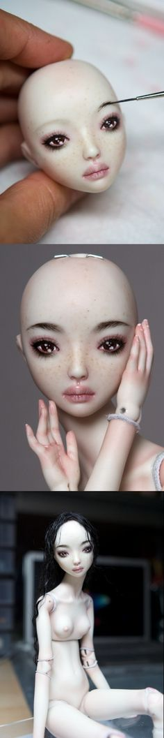Marina Bychkova #dolly #sculpt