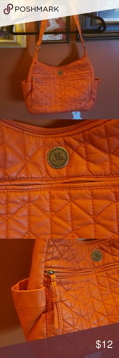 """NWOT Rip Curl Hobo Bag NWOT Orange Rip Curl hobo bag. Faux leather, cute quilted front. Has 2 side pockets, large exterior zip pocket, 1 inside zip pocket, and 1 inside open pocket. Really nice size. Measures 14.5"""" across, and 9"""" high. No flaws, brand new. If you have any questions, please ask! Thanks! Rip Curl Bags"""