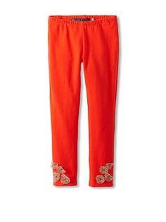 51% OFF Millions Of Colors Girl's Leopard Flower Legging