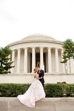 20 Amazing Places for Wedding Photos in Washington, DC : Washington Monument not included, because duh.