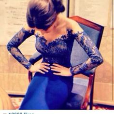 lace open back dress...I'd like to see the whole dress but hey it's cute