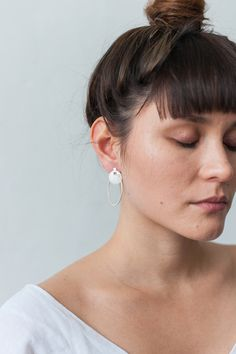 At Alison Jackson, we design and create a highly-crafted selection of fine contemporary jewellery and tableware. Geometric Form, I Spy, Contemporary Jewellery, Jackson, Pearl Earrings, Beautiful, Collection, Jewelry, Geometric Fashion