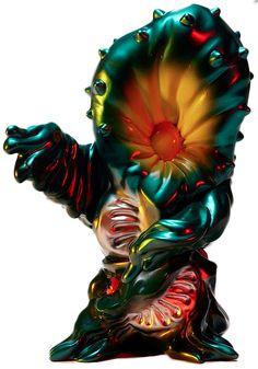 walking plant monster man - plastic Kaiju