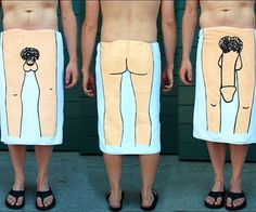 Dry yourself off with a towel that leaves nothing to the imagination with the dick towel. Each towel is reversible, with a big dick on one side, a small dick on the other. These hilarious dick towels are the officially licensed product from It's Always Sunny In Philadelphia.