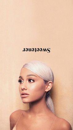 'Sweetener' by Ariana Grande. Ariana Grande Fotos, Ariana Grande 2018, Ariana Grande Background, Ariana Grande Wallpaper, Ariana Grande Sweetener, The Light Is Coming, Music Wallpaper, Dangerous Woman, Beautiful Celebrities