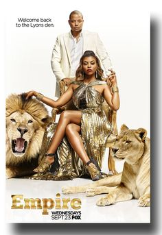 Stoked for Season 2 #EmpireTvShow #Empire poster available at  http://concertposter.org/empire-tv-show-promo-flyer-poster-terrence-howard-taraji-henson-lyons/