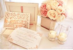 Our Muse - Romantic Rose Gold Wedding - Be inspired by Tara  Blake's romantic rose gold wedding - wedding, invitations, letterpress printing, foil printing, laser-cut