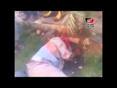 اعتداء الاخوان على ضباط الفيوم بالضرب حتى الموت !!