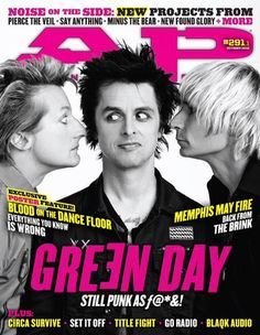 Green Day. Billie's face!!!