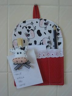 sewing idea for a memo board ♥