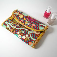 Fat Quarter Gang - Nice & Neat Manicure Kit by I Heart Linen - Art Gallery Fabrics - The Creative Blog