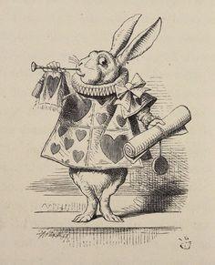 """Il 26 novembre 1865 uscì la prima edizione di """"Alice's Adventures in Wonderland"""" di Lewis Carroll. E da allora Alice non ci ha più abbandonato..."""
