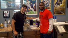 Michael Robinson of the Seattle Seahawks...another proud owner of a Kangen machine
