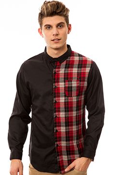 The Brindle Woven in Red Plaid by ARSNL