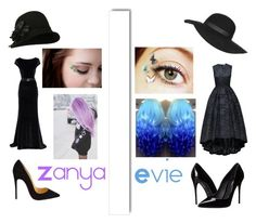 """""""Evie and Zanya grieving"""" by eviehartleytull on Polyvore featuring Linea, Christian Louboutin, White Label, Topshop, Dolce&Gabbana, women's clothing, women, female, woman and misses"""