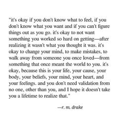 It's okay if you don't...