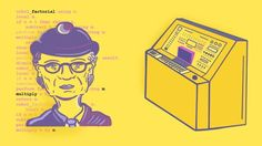 Grace Hopper e um computador  9 coisas inventadas por mulheres - e você não sabia.