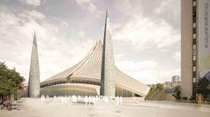 Gallery - Central Mosque of Pristina Competition Entry / Victoria Stotskaia, Raof Abdelnabi, Kamel Loqman - 1