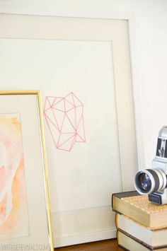 DIY geometric String Art