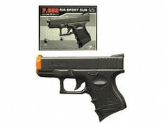 Apparently the Airsoft version of BW's onscreen pistols. P698 Airsoft Cyma.