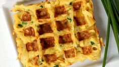 Savory Parsnip Noodle Chive Waffles (Parsnaffles) Recipe | Inspiralized | Recipe - ABC News
