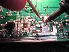This is not about how to work on a mother board but how to solder.