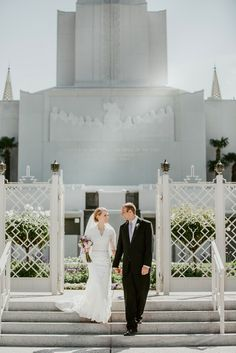 Kimbry Studios Photography - San Fransisco Oakland LDS Temple wedding - Modest wedding dress