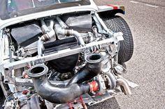 Porsche 961 engine
