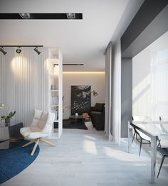 Apartment on Behance