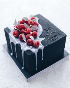 Newest Screen fruit cake design Tips - yummy cake recipes Pretty Cakes, Cute Cakes, Beautiful Cakes, Amazing Cakes, Sweets Cake, Cupcake Cakes, Fruit Cake Design, Cake Recipes, Dessert Recipes