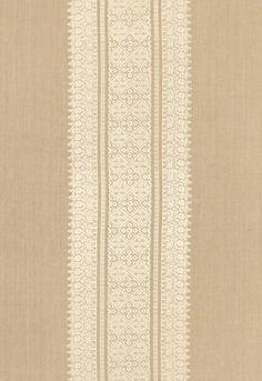 Fabric | Saree Stripe in Stone | Schumacher
