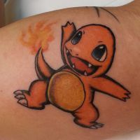 TATTOO: Charmander by briescha
