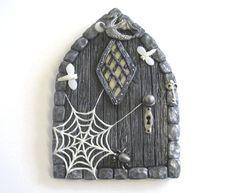 Gothic Style Scary Fairy Door
