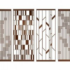 Home Decorators Collection Blinds Screen Design, Facade Design, Partition Screen, Divider Screen, Partition Walls, Jaali Design, Stainless Steel Screen, 3d Interior Design, Interior Paint