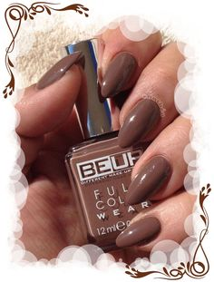 Swatch du vernis Be Up Cosmetics n°78, un joli marron animal Plus d'infos et de photos sur le blog : http://anthea-nail-art.over-blog.com/2015/10/beup-full-color-wear-n-78.html