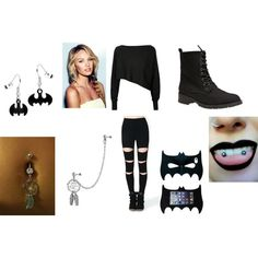 Rebel by noely-jones on Polyvore featuring Crea Concept, Wet Seal and Bling Jewelry