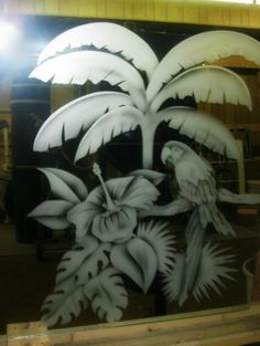 Sand Glass, Glass Art, Etched Mirror, Etched Glass, Glass Etching, Stencils, Plants, Painting, Windows