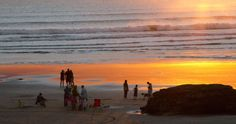 Port Waikato people by janet Keen Photographer Beach Scenes, New Zealand, Mosaic, Sunset, Artist, Artwork, People, Photography, Painting