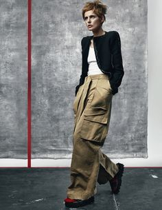 Stella Tennant by Craig McDean for Vogue UK July 2015