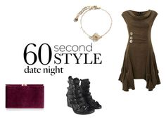 """""""60 Second Style: Last Minute Date"""" by crimsoncapo ❤ liked on Polyvore featuring Izabel London, Ann Demeulemeester, Vera Bradley, Monsoon, women's clothing, women, female, woman, misses and juniors"""