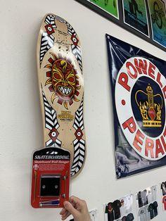 Skatehoarding Skateboard Wall Hanger Mounts