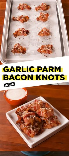 Bacon Lovers Will Go Nuts Over These Garlic-Parm Bacon KnotsDelish